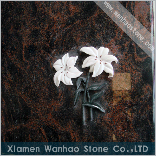 Tombstone Cover Slab with Inlay 001