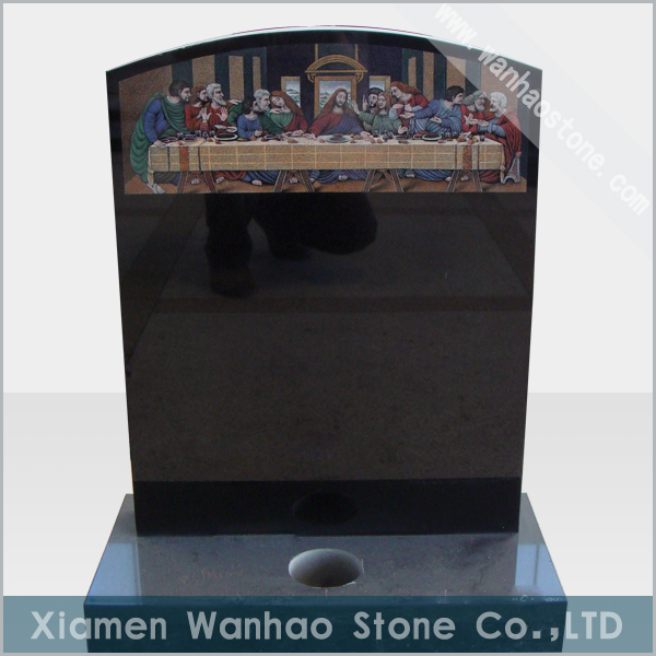 Chinese Granite Headstone WH-EM011