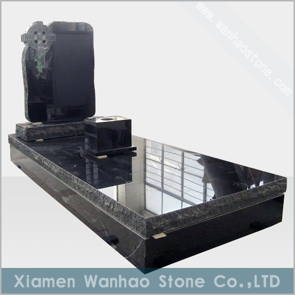 chinese granite headstone WH-EM014